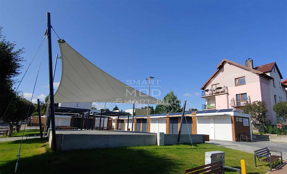 Modular marketplace in Władysławowo